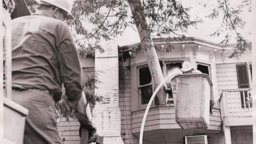 Pines Risalas Bar Fire 1965