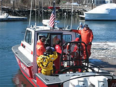 marine firefighting rescue training 2
