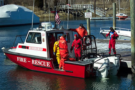 marine firefighting rescue training 3
