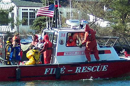 marine firefighting rescue training 8