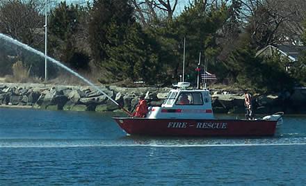 marine firefighting rescue training 9