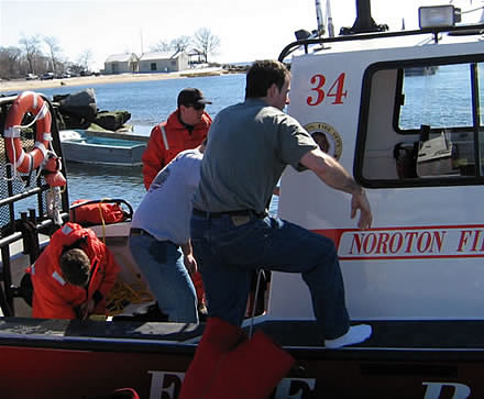 marine firefighting rescue training 11