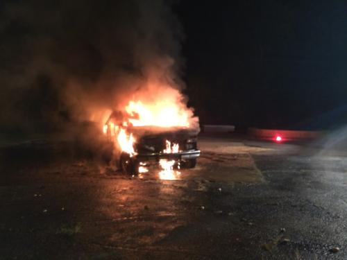 Car Fire Image 1
