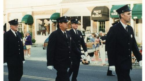 The Noroton Fire Department on Parade