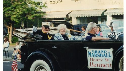 Grand Marshall Henry W. Bennett